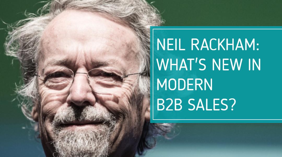 Neil Rackham über modernen IT-Verkauf