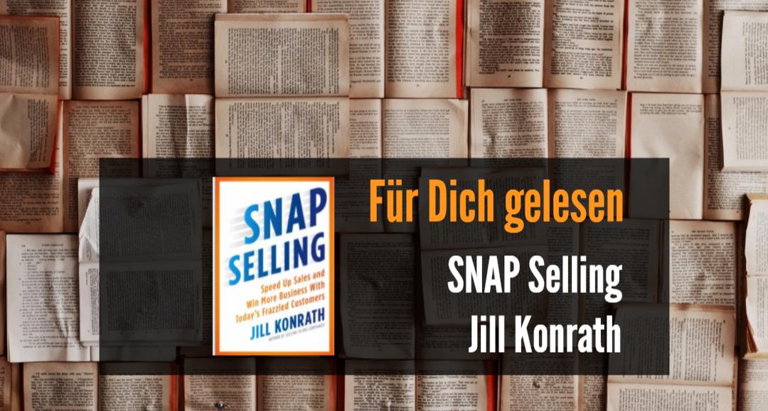 Für Dich gelesen: SNAP selling
