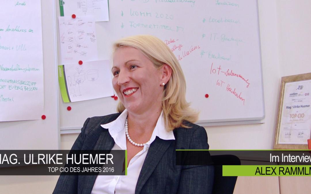 Video-Interview mit Ulrike Huemer, CIO der Stadt Wien