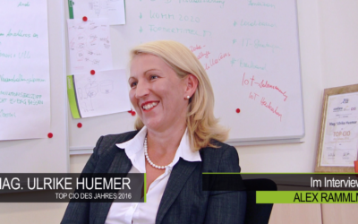 Video-Interview mit Ulrike Huemer, CIO der Stadt Wien